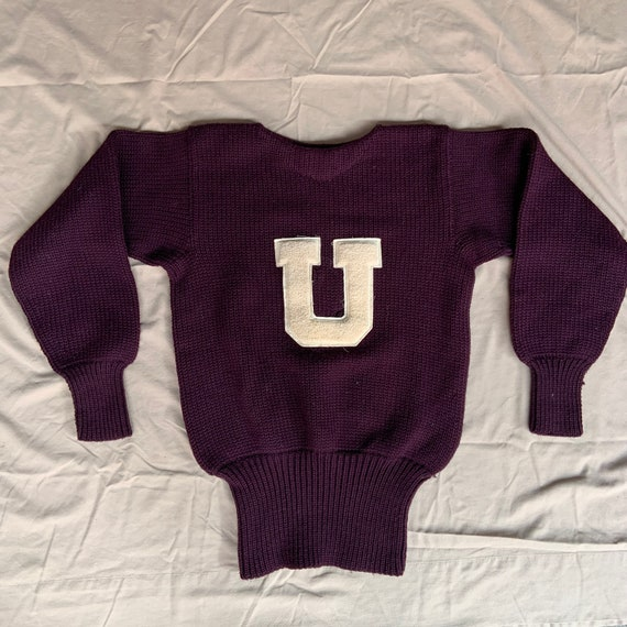 Late 1940s Wilson Sports Equipment Varsity Sweater