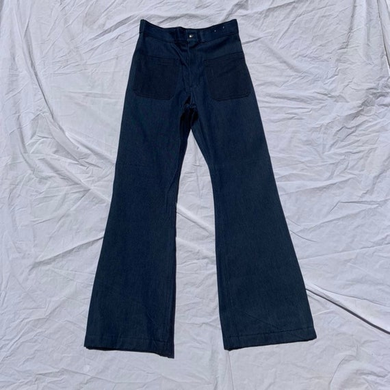 1970s (Unused!) Seafarer Deadstock Bell Bottoms
