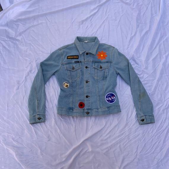 1980s Denim Patch Jacket