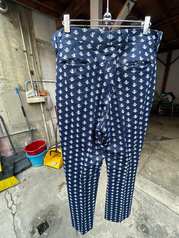 1970s Anchor Bell Bottom Pants - image 3