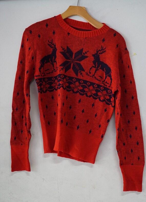1940's Wool Ski Sweater
