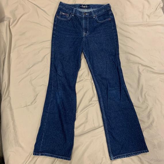 1990 Lei Bell Bottom Blue Jeans