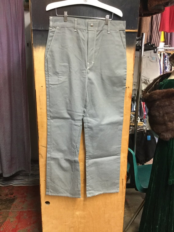 Deadstock Mens HIgh Waisted Jeans
