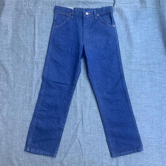 1980s Dead Stock Wranglers Blue Jeans