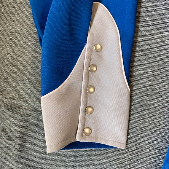1970s H Bar C Blue And Grey Western Shirt - image 5