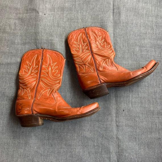 1950s Acme Brown Cowboy Boots