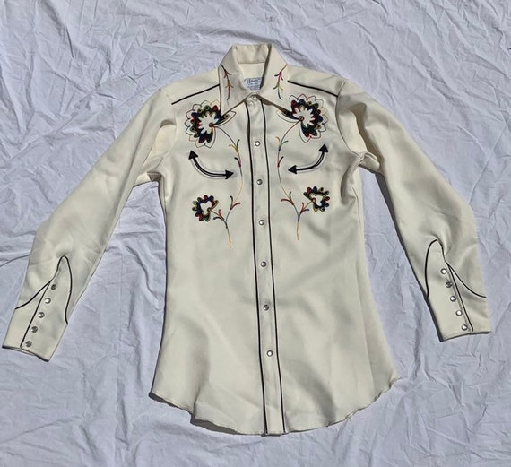 1970s H Bar C Western Shirt