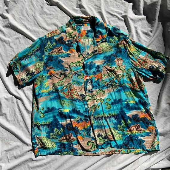 1950s Pennys Hawaiian Shirt
