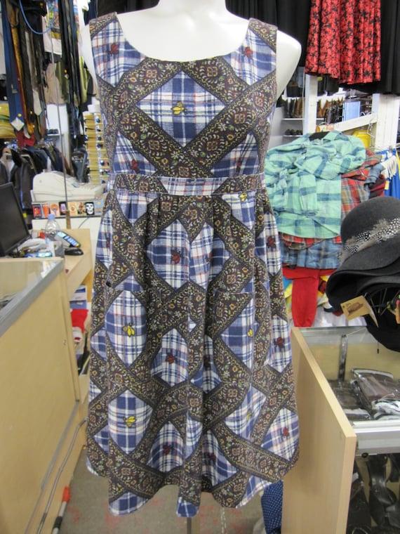 Vintage Mini Dress // 90s Grunge // Pastel Grunge