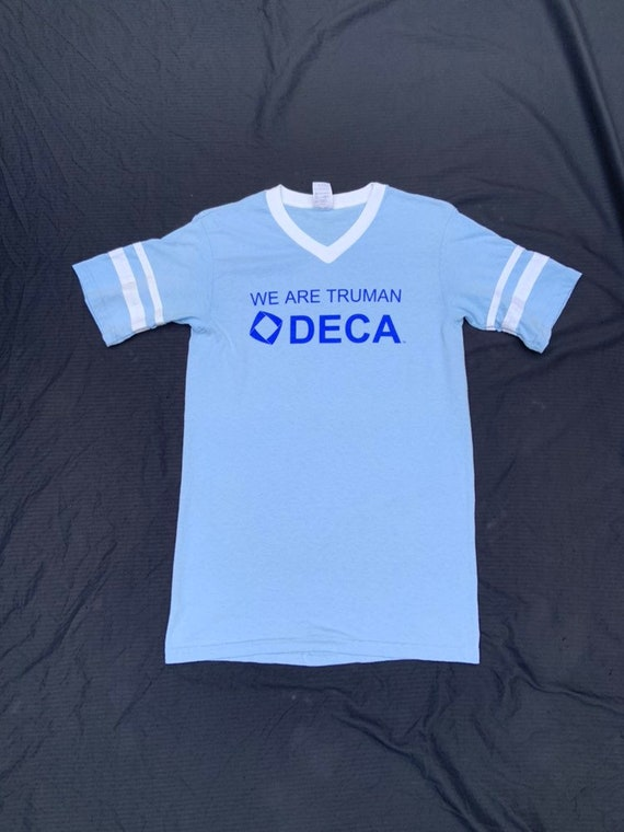 1970s Baby Blue Deca T-Shirt