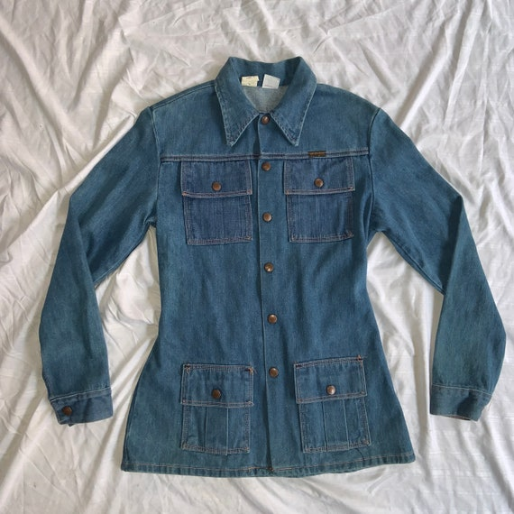 1970s Woman's Wrangler Denim Jacket