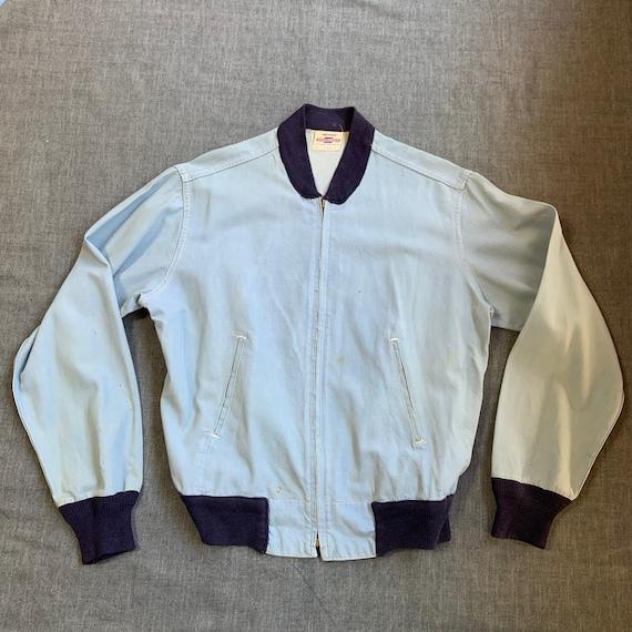 1950s Sky Blue Jacket