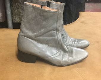 Gray Ankle Boots San Remo