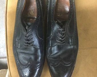 Wingtip Mens Black Shoes