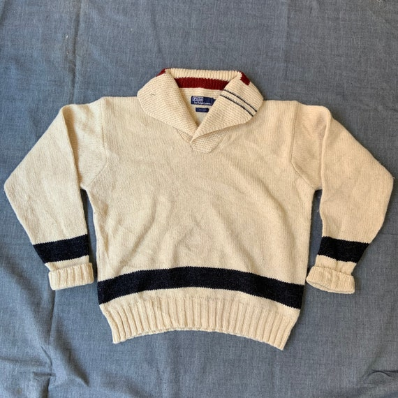 1990s Ralph Lauren Ski Sweater