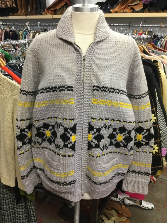 Cowichan Sweater With Pockets