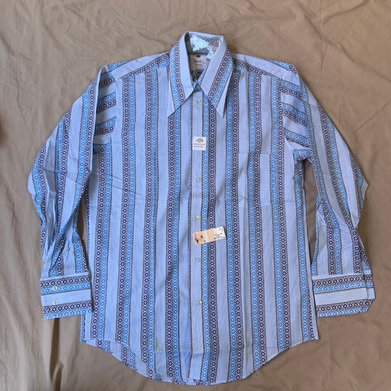 1970s Deadstock Long Sleeve Button Up