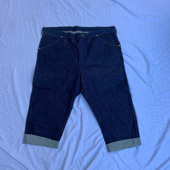 1960s Deadstock Maverick Indigo Denim Shorts