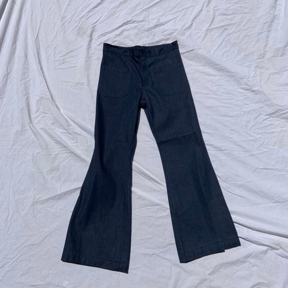 1970s (Unused!) Dungaree Deadstock Bell Bottoms