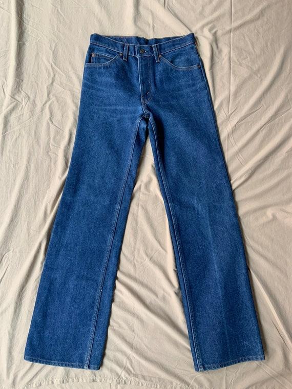 1970s Orange Tab Levi's Lined Jeans