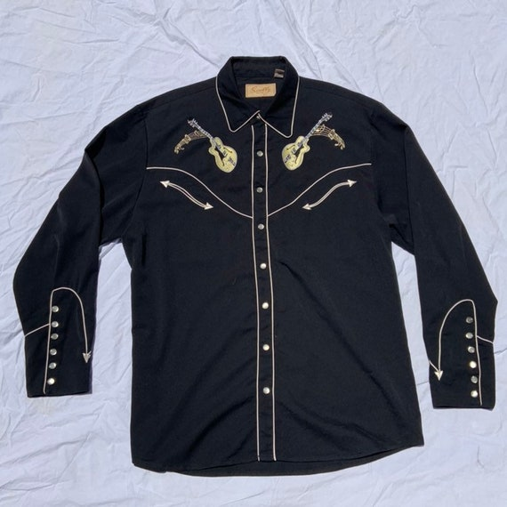 1990s Scully Western Shirt