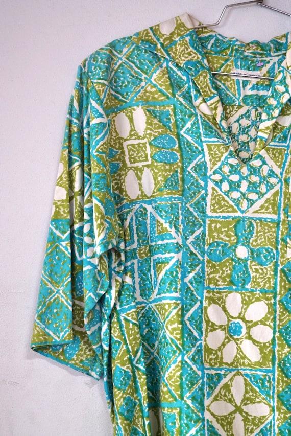 1960's Tiki Hawaiian Pullover