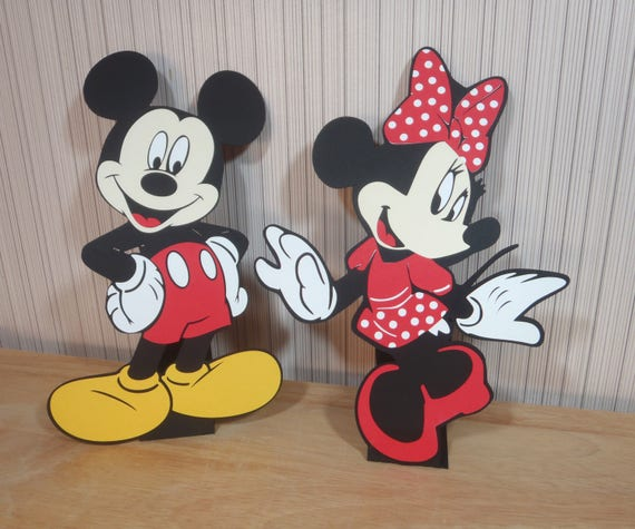 Mickey Mouse Party Decorations Centerpiece Table Decor