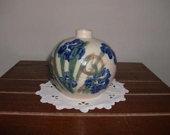 Rustic Planter 1960s Vintage Ting Keramik F\u00d8LLE Denmark pot with handles Farmhouse Decor Mid-century Scandinavian Studio Pottery