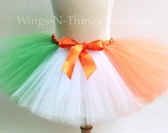 72dfe19d59538 ADULT IRISH FLAG Tutu Skirt, Womans Costume, Photo Prop, Ireland, Green,  Orange, White, Saint Patty, Party, Running, Marathon, Ladies Night