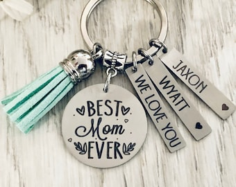 personalized photo key chain women keychain mothers day Leather keychain with photo mothers day gift gifts for mom Custom Key ring