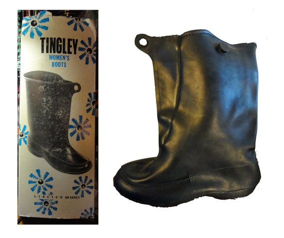 Vintage 1950s Boots Rubber Pull-on