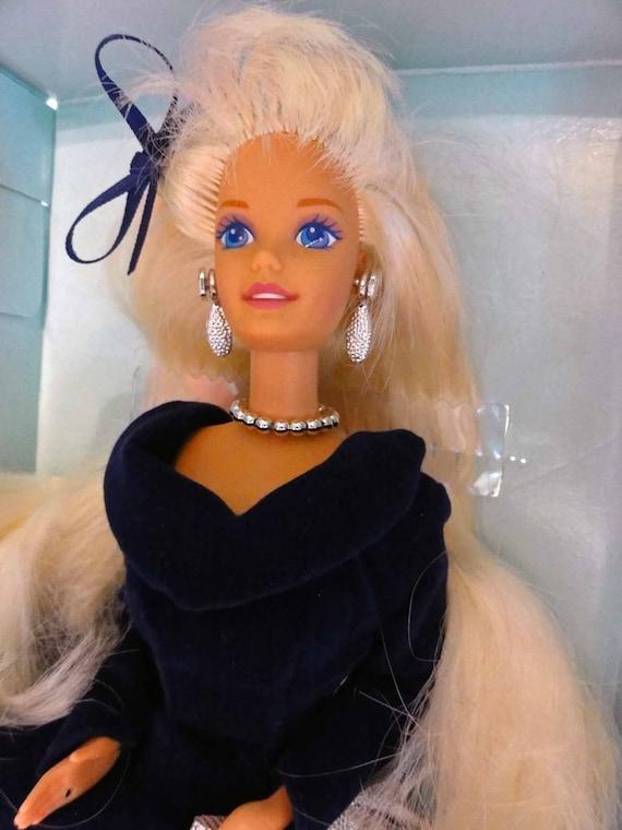 Mib Vintage 90er Jahre Barbie Winter Samt Avon Special Edition Etsy