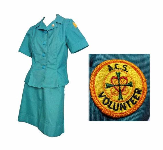 Vintage Uniform 1960-70s ACS Army Community Servic