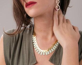 Tribal necklace, tribal jewelry, ethnic jewelry, Ethnic boho necklace, African necklace, african jewelry, egypt necklace, Massai necklace