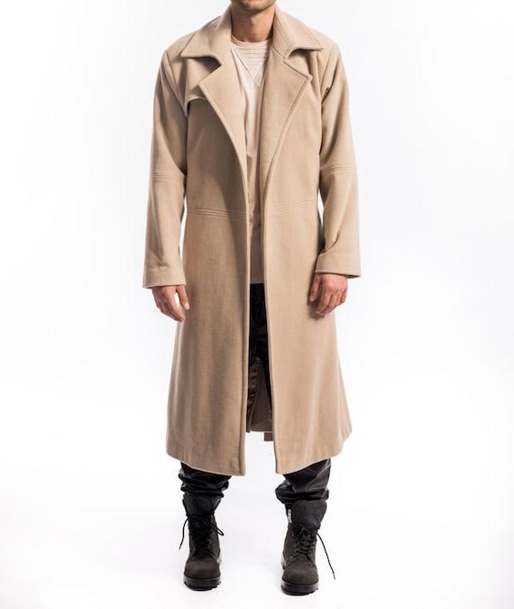 Men S Oversized Overcoat, Oversized Trench Coat Mens