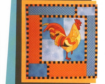 Reggie Rooster Pattern by BJ Designs & Patterns (BJRE-61)