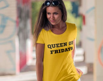 ac8c4060eda Women s T-Shirt - Plus Size Clothing – Slogan T Shirts – Queen Friday - Feminist  T-Shirt - Girlfriend Gift - Tumblr Shirt