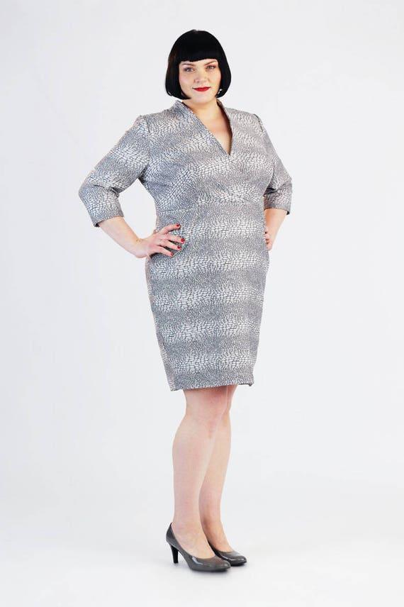 Sewing pattern Jeannie Dress plus size