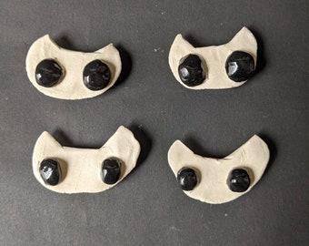 Ceramic Cat Magnet