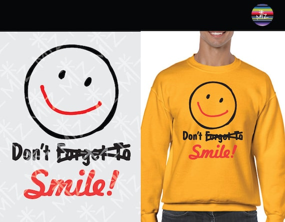 Joker Don T Forget To Smile Svg Cut Files Don T Etsy