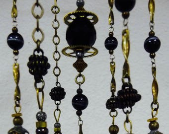 Steampunk themed mobile/chime/house jewelry