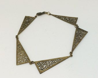 Bracelet 001 | Vintage + Reclaimed Components
