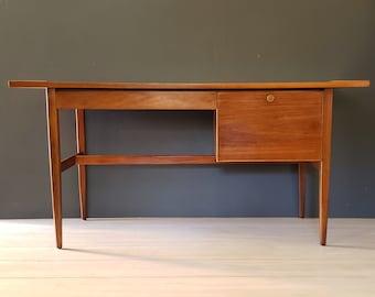 Kipp Stewart Desk ~ Mid Century Walnut Desk For Drexel Declaration ~ Danish Modern Walnut Desk / Kipp Stewart and Stewart McDougall