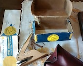 Vintage embossing seal kit - Notary Public Indiana