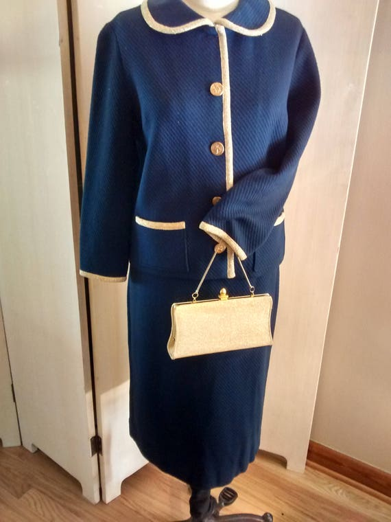 1960s knit suit
