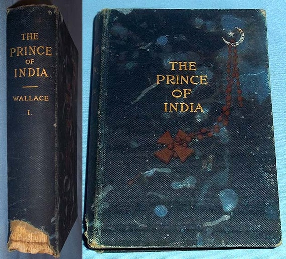 Antique 1893 First Edition Book The Prince Of India Or Why Etsy