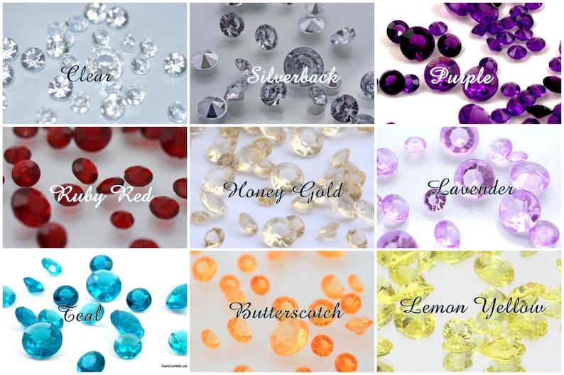 Diamond Confetti 1000 ct-10mm 2/5 inch1 & 1/2 Cups Lots of image 0