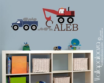 Construction Kids Wall Decal