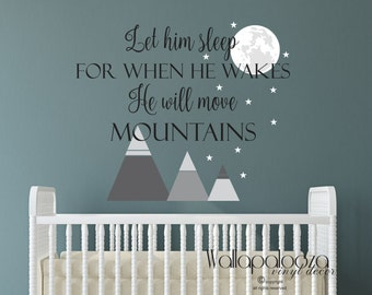 Let Her Sleep For When She Wakes She Will Move Mountains Wall