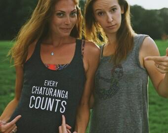 Yoga Graphic Tee | Funny Yoga Tank Top | Playful Yoga Shirt | Fun Workout Tank | Fun Graphic Tank | Bridesmaid Gift for Yogi | Gift for Yogi